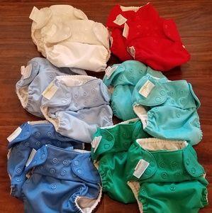 12 x BumGenius Original 5.0 Cloth Diapers